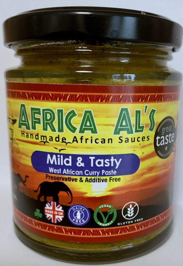 Africa Al's Mild & Tasty West African Curry Paste